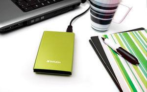 HardDrives Portable USB 3.0  Colours Green