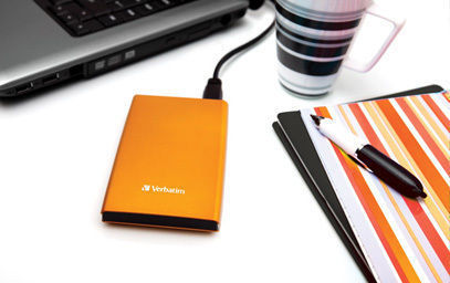 HardDrives Portable USB 3.0 Colours Orange