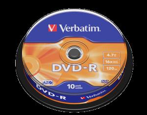 DVD-R Matt Silver