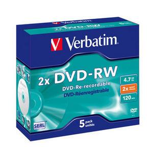 DVD-RW Matt Silver 2x