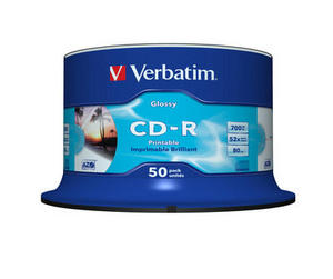 CD-R Glossy Inkjet Printable AZO