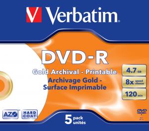 DVD-R Gold Archival