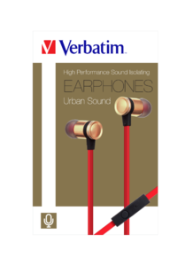 High Performance Sound Isolating Earphones - Gold
