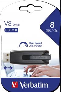 V3 USB-stick 8 GB*