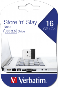 Store 'n' Stay NANO USB-drive 16 GB*