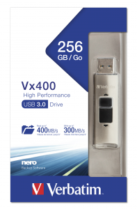 Verbatim VX400 USB 3.0 256GB* Silver