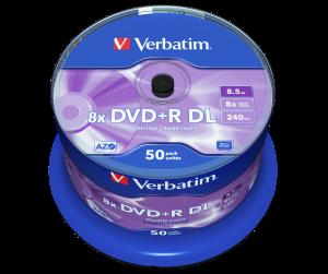 DVD+R Double Layer Matt Silver