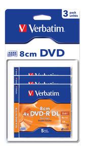 DVD-R 8cm Dual Layer Matt Silver