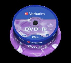 DVD+R Matt Silver