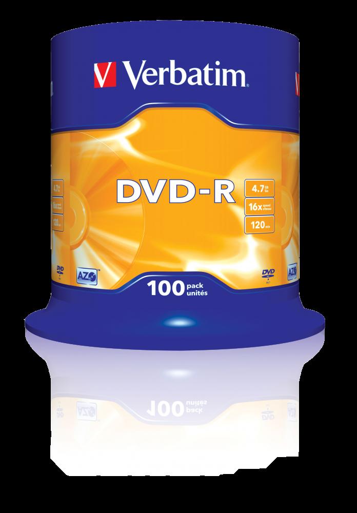 DVD-R matzilver