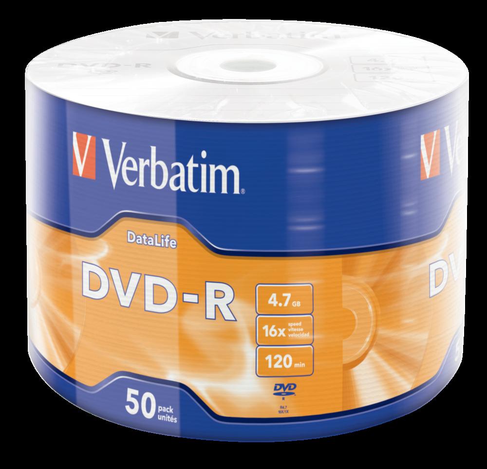 DVD-R mat sølv