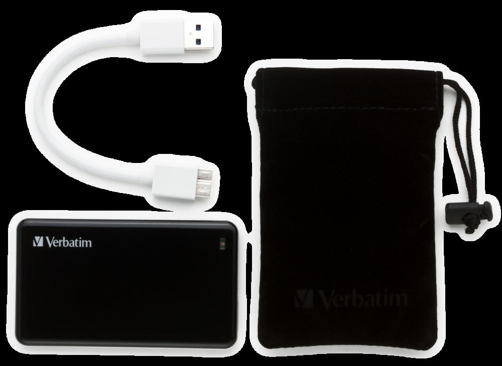 Внешний SSD-накопитель с интерфейсом USB 3.0 емкостью 256�Гб