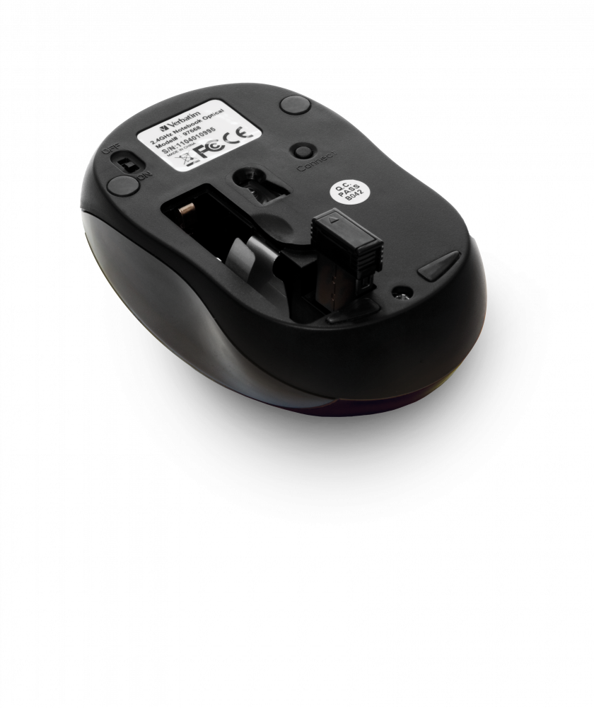 Mouse wireless GO NANO - Nero