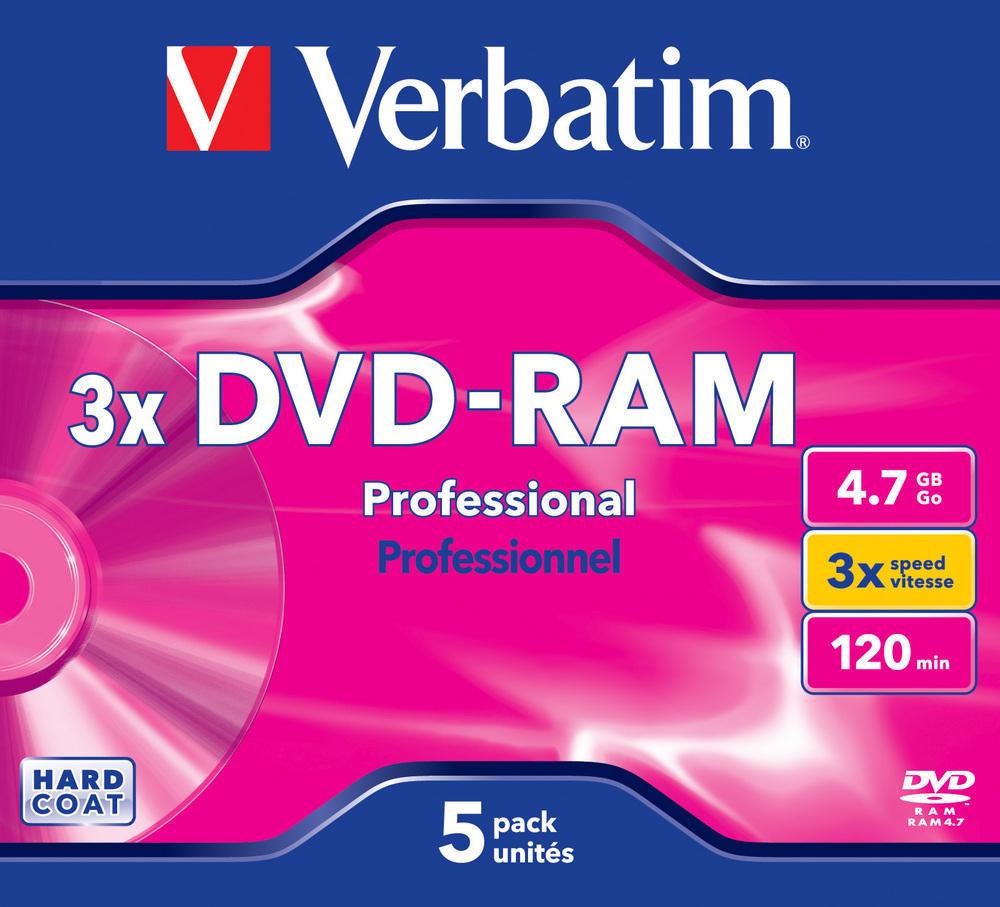 DVD-RAM 3x