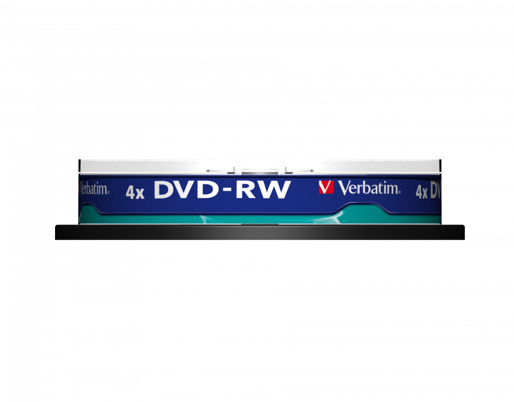 DVD-RW mattsilber