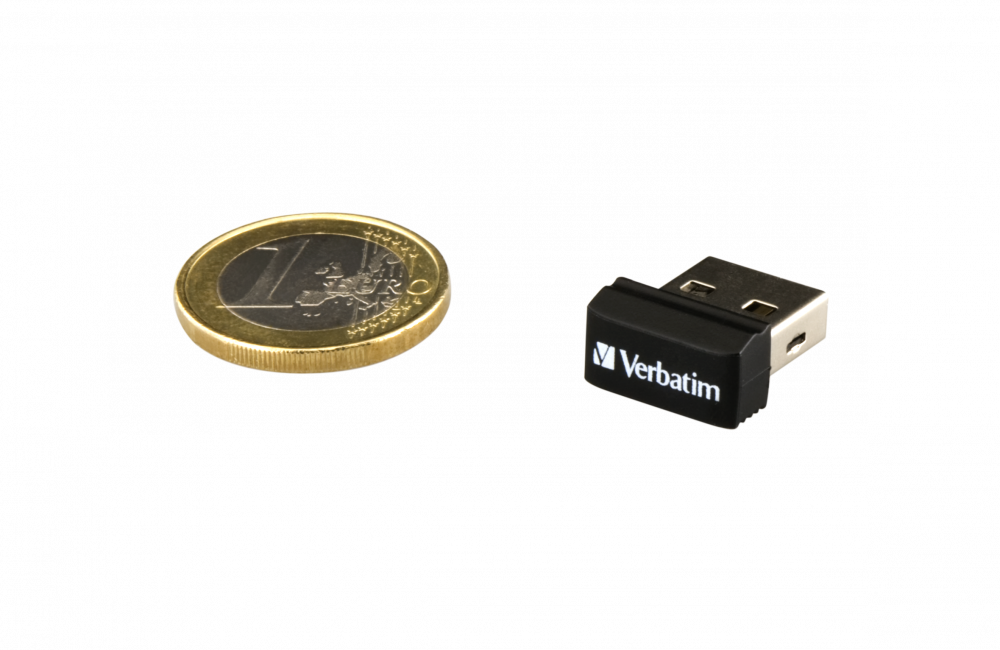 97464 NANO USB Drive + Euro Coin 1