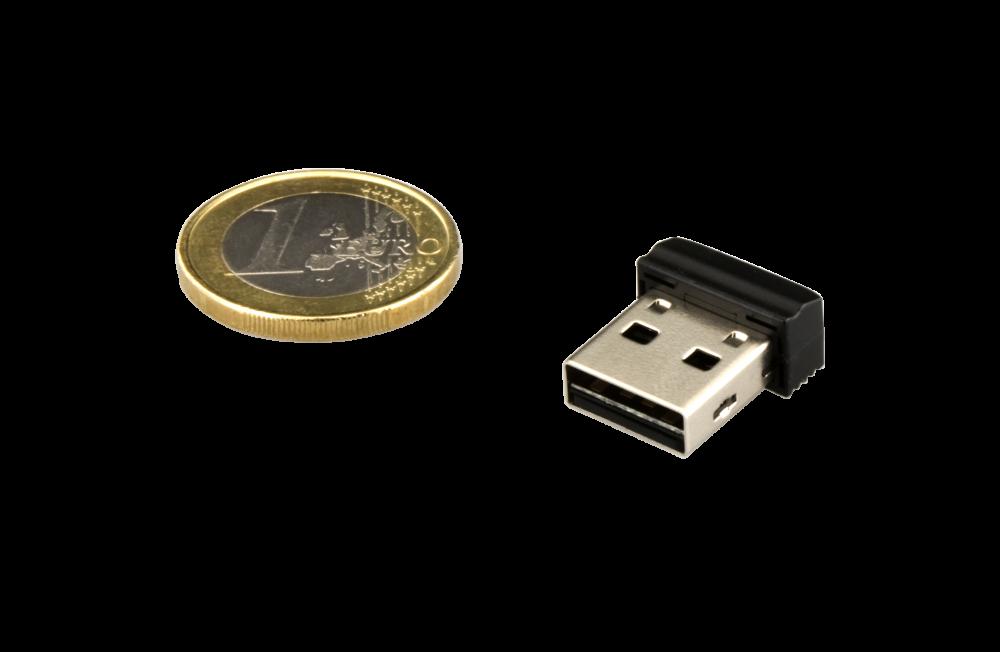 97464 NANO USB Drive + Euro Coin 2