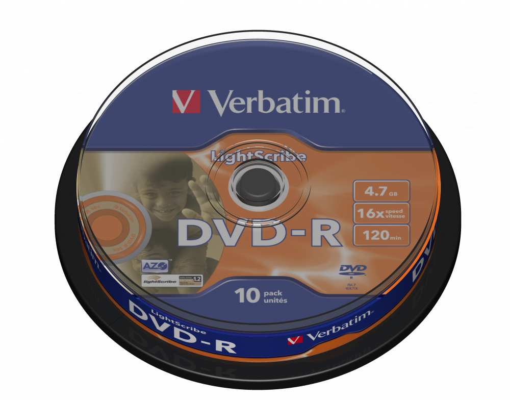 DVD-R Lightscribe V1.2