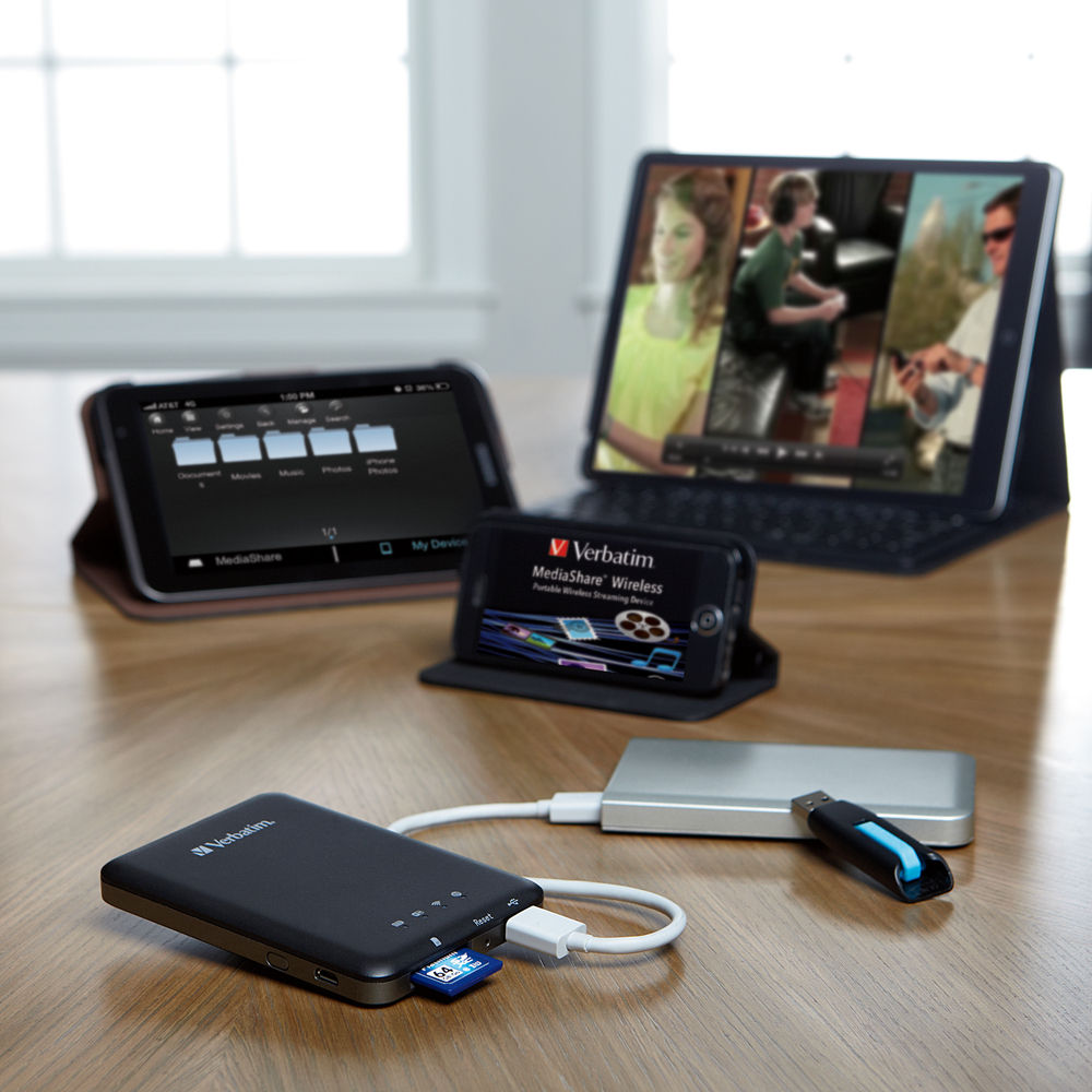 MediaShare Wireless Usage Shot 2