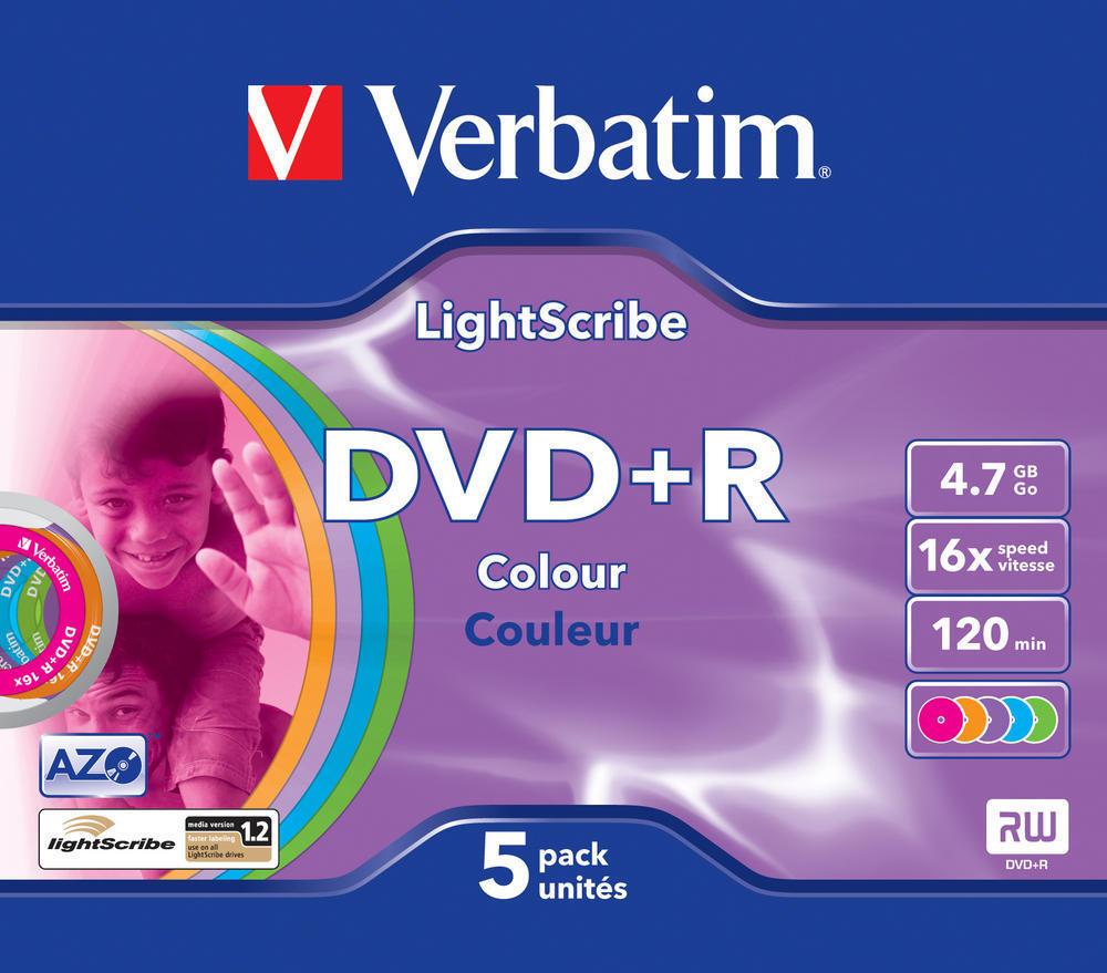 DVD+R Lightscribe Colour V1.2