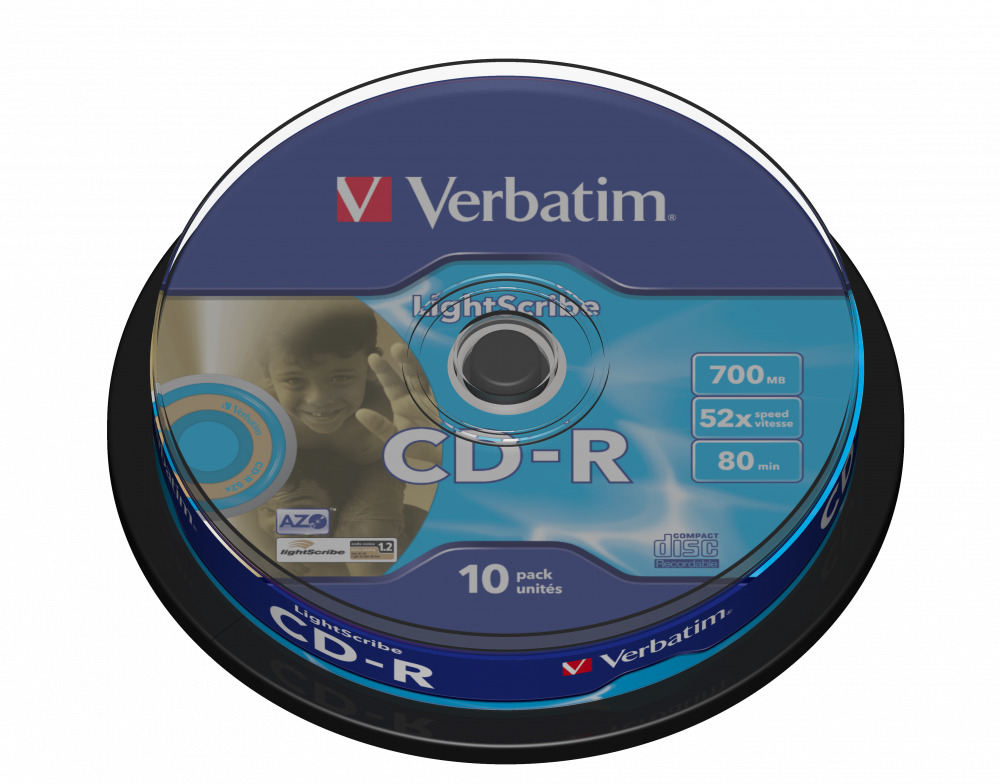 CD-R AZO LightScribe