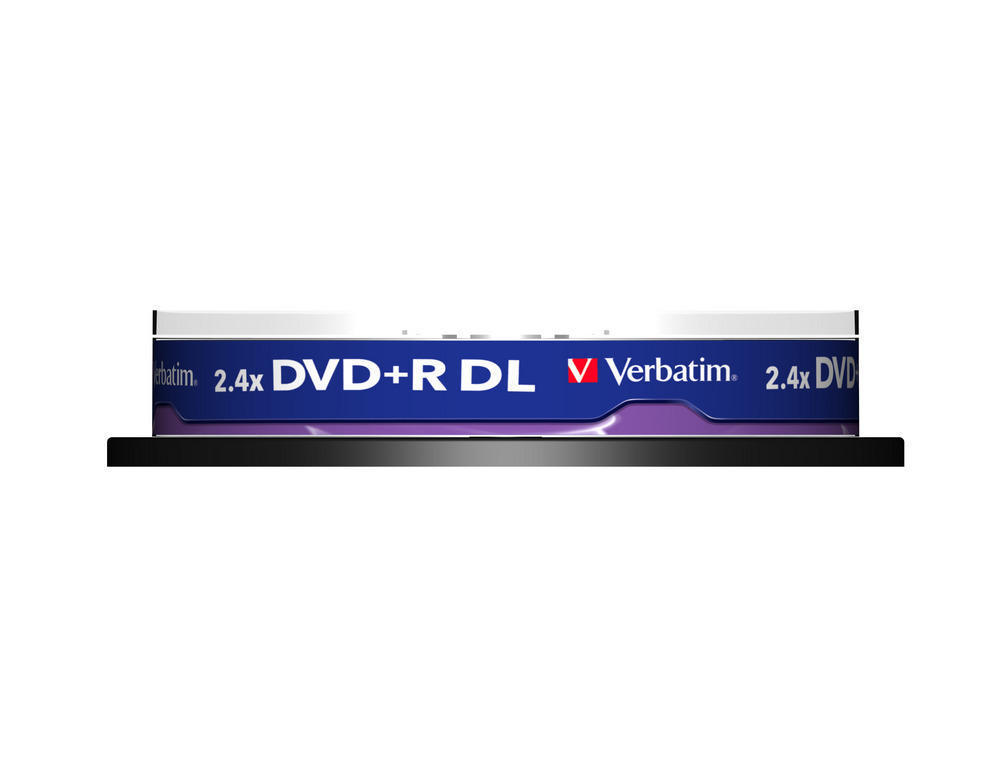 DVD+R Double Layer Matt Silver 2.4x