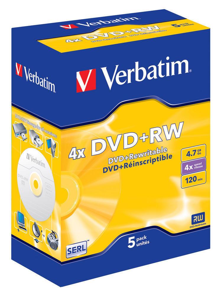 DVD+RW 4x