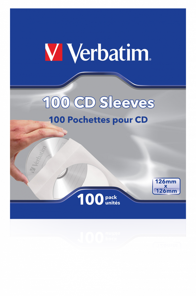100 custodie per CD (carta)