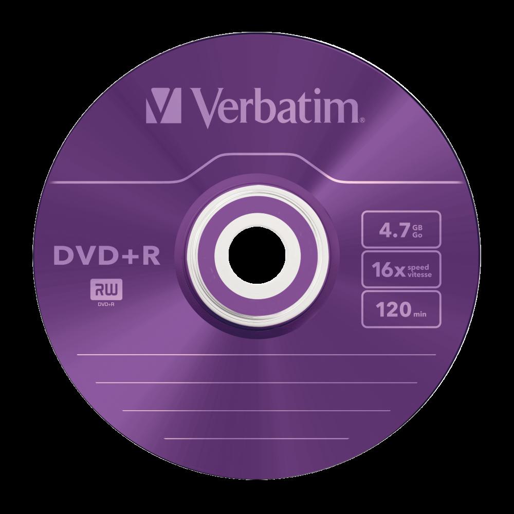 43556 DVD+R Colour Global Disc Surface Purple