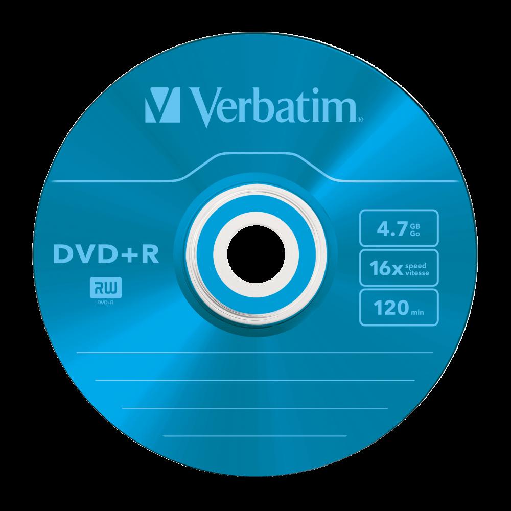 43556 DVD+R Colour Global Disc Surface Blue