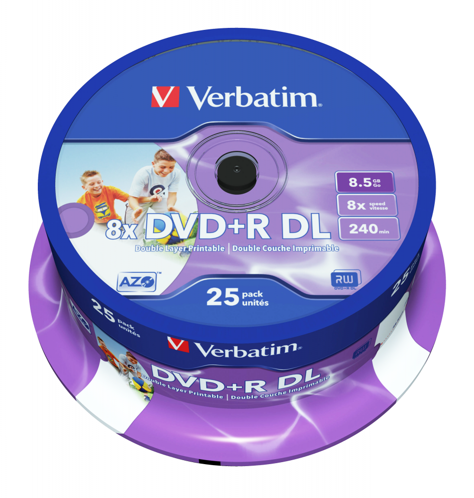 DVD+R Double Layer Wide Inkjet Printable