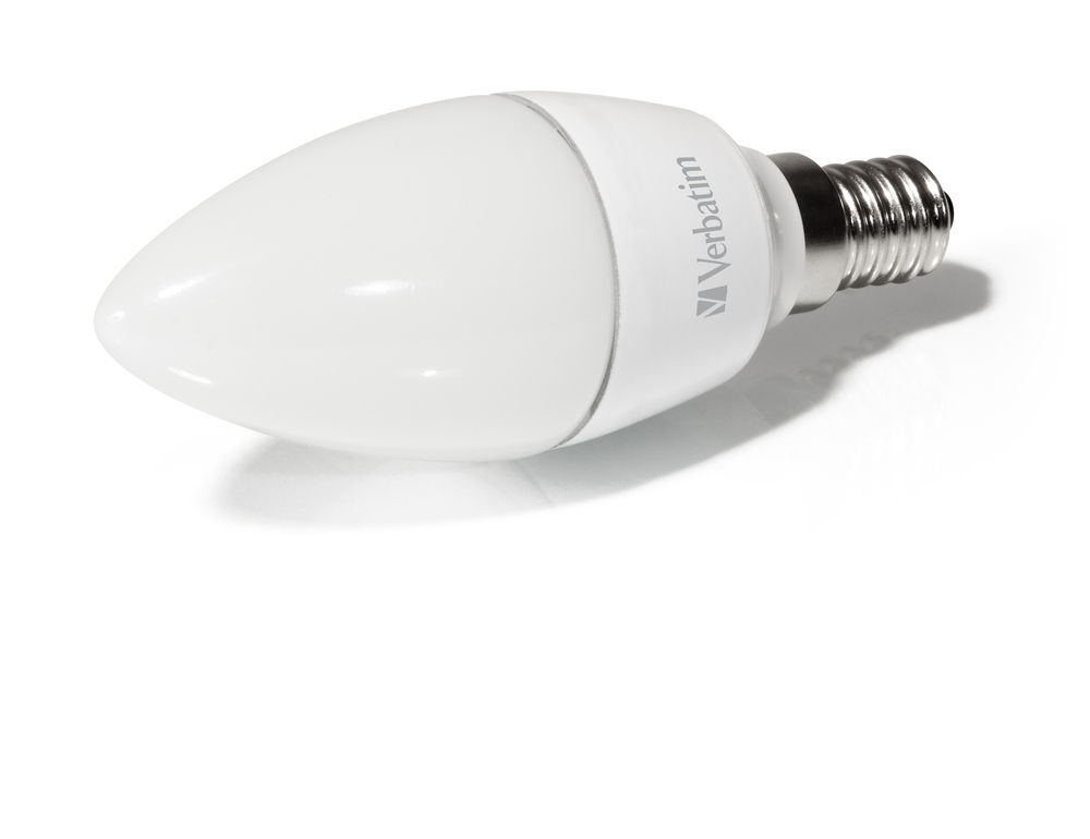 Verbatim LED Candle Frosted E14 4.5W