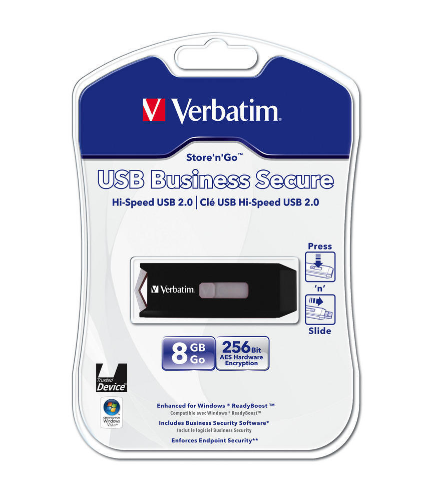 Unità USB Business Secure 8 GB*