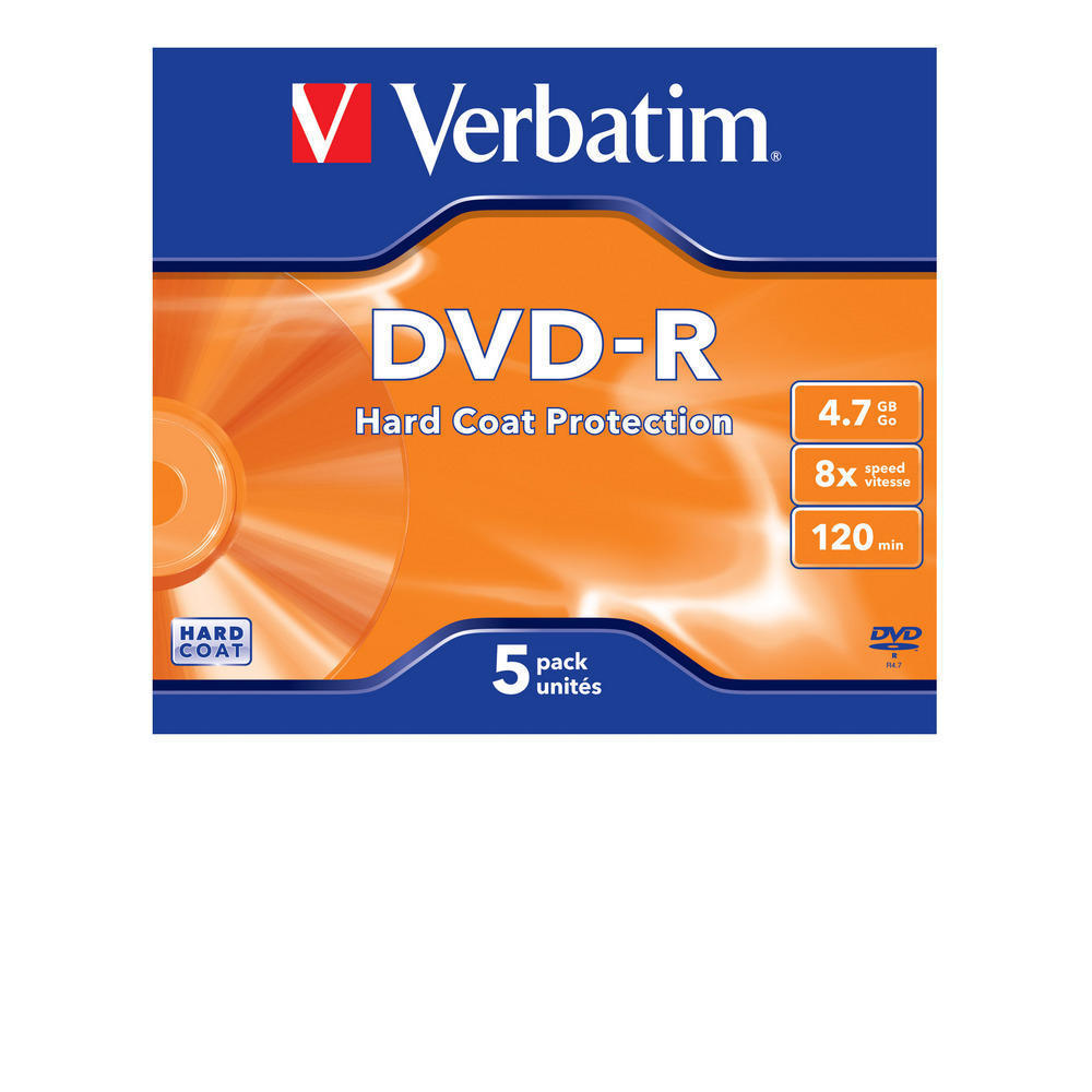 DVD-R Hardcoat
