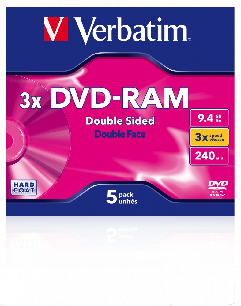DVD-RAM 3x Double Sided