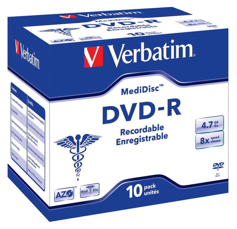 DVD-R MediDisc 8x