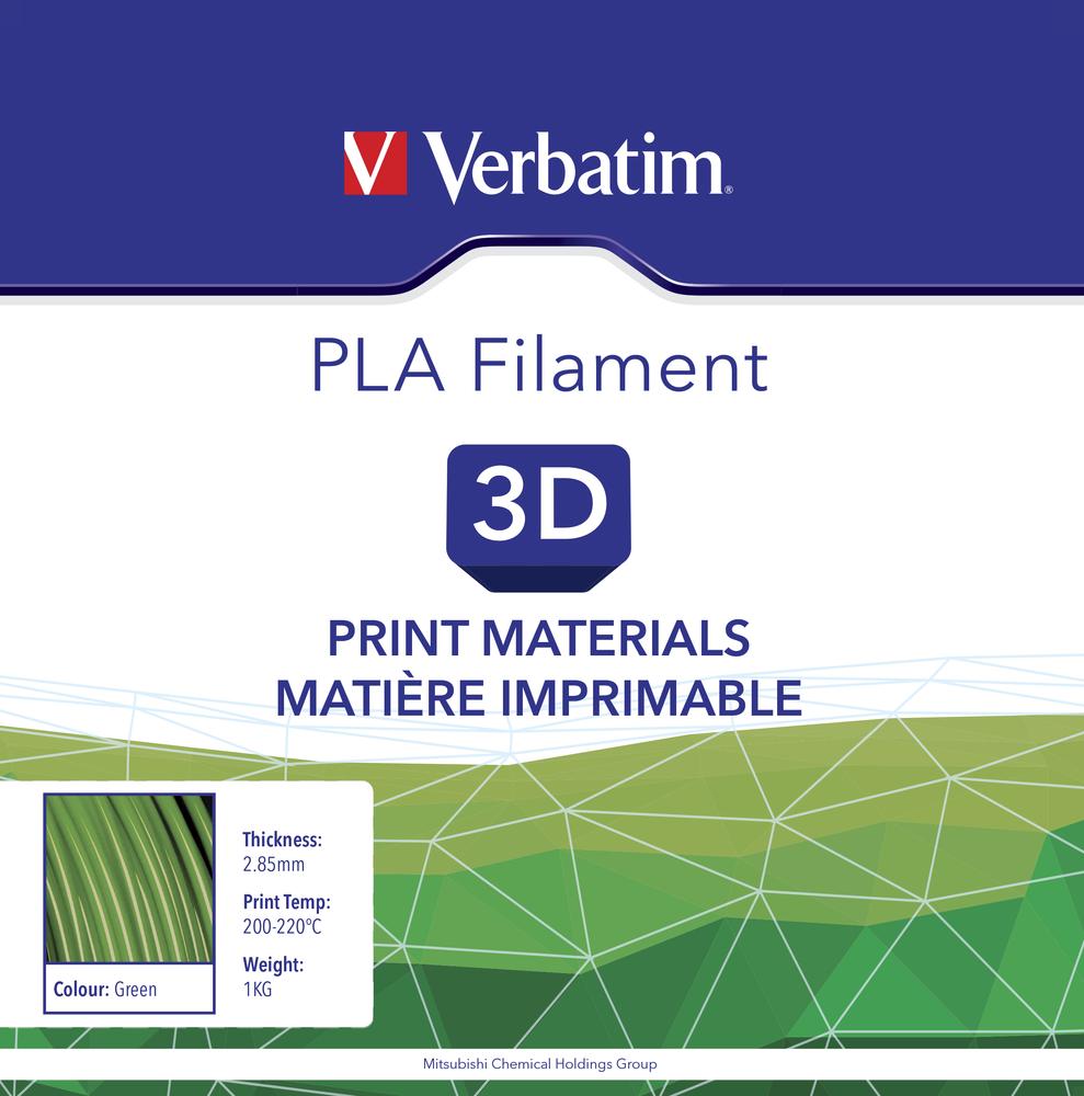 Verbatim PLA-Filament 2,85mm 1kg - Grün