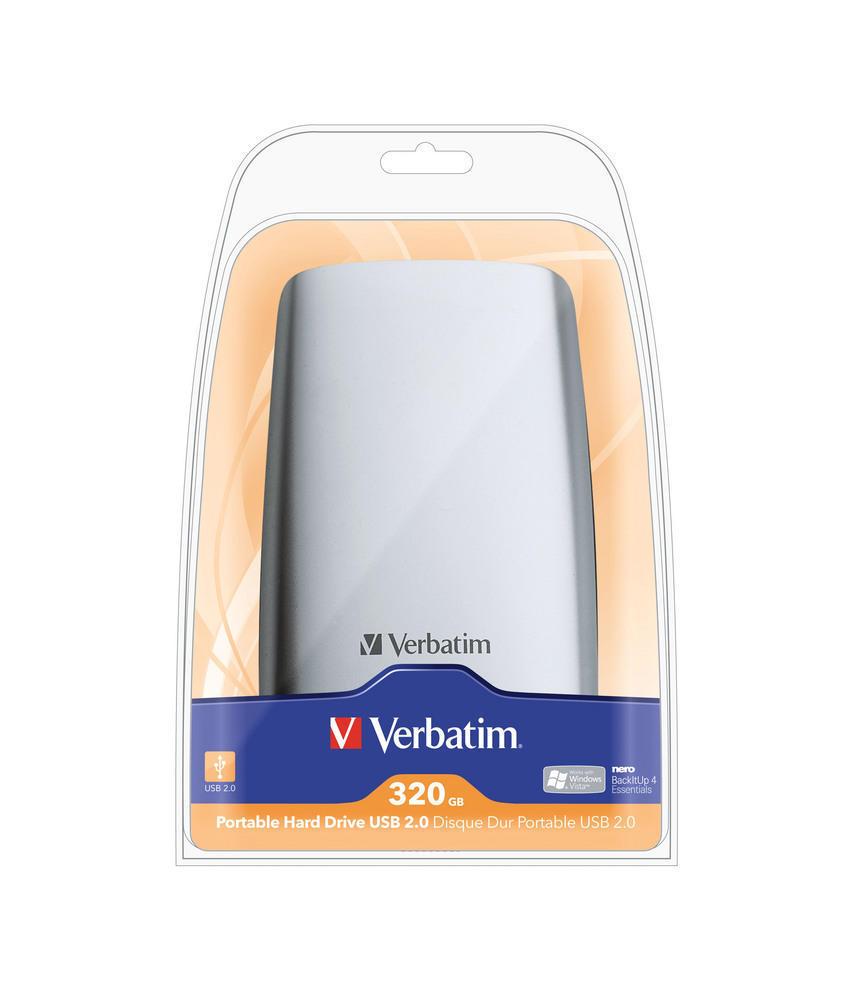 Portable Hard Drive USB 2.0 320GB*