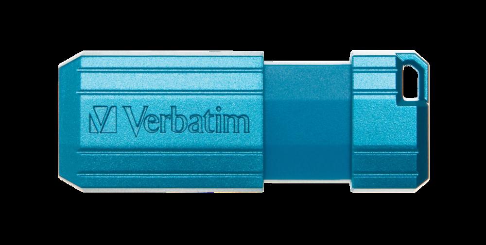 PinStripe USB Drive 16GB* - Caribbean Blue