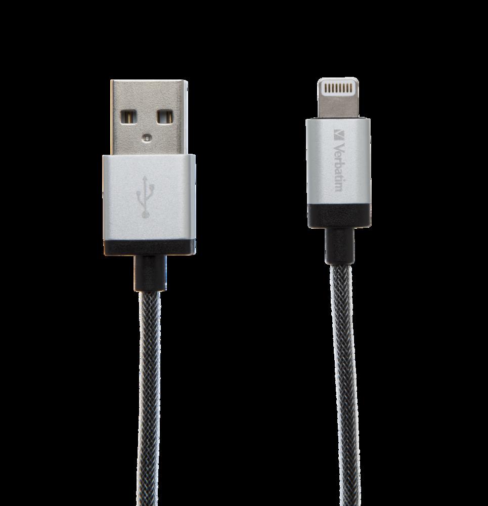 Verbatim Lightning Cable Silver 30cm