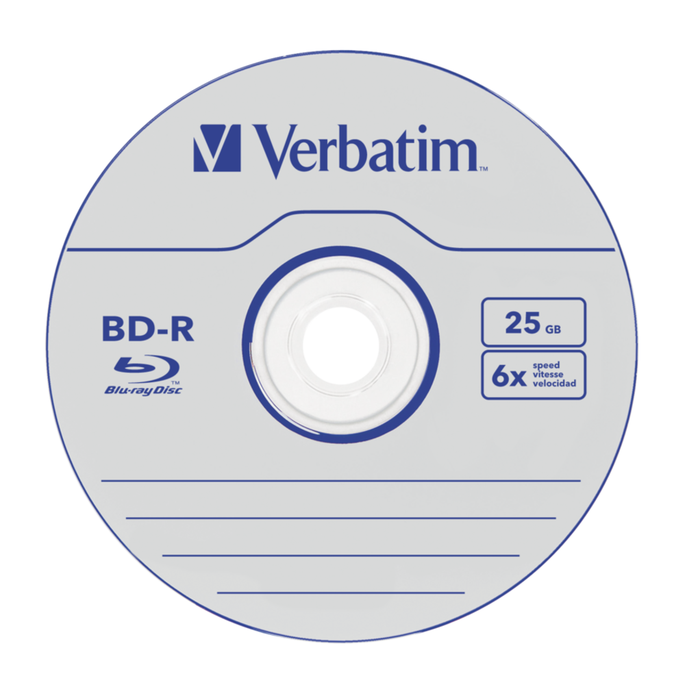 BD-R SL Datalife 25GB 6x 25 Pack Spindle