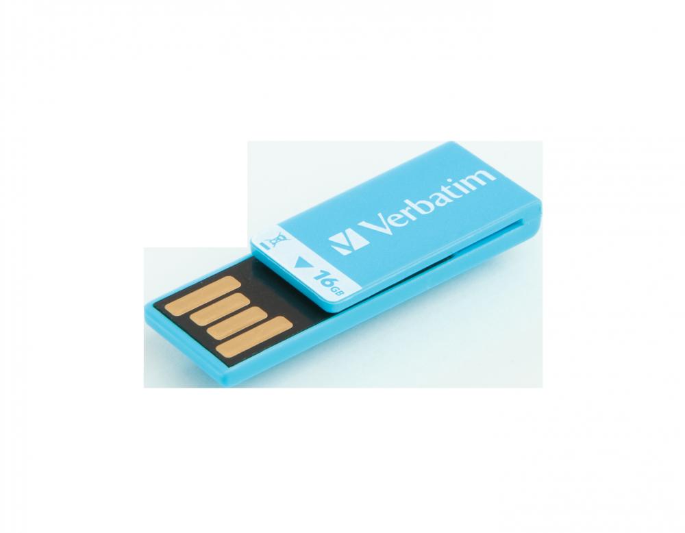 USB-Laufwerk Clip-it 16 GB*, Blau