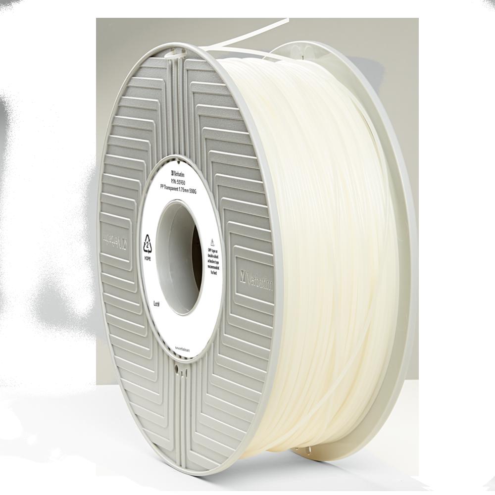 Verbatim PP Filament 1,75 mm – Transparent