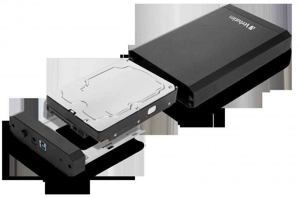Store 'n' Save 3.5'' Metallgehäuse-Kit USB 3.0