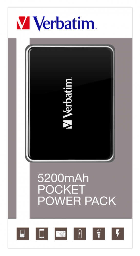 Pocket Power Pack - 5200mAh