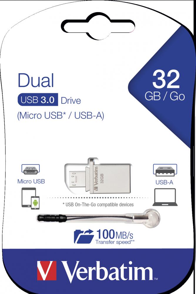 Dual OTG Micro Drive USB 3.0 32GB