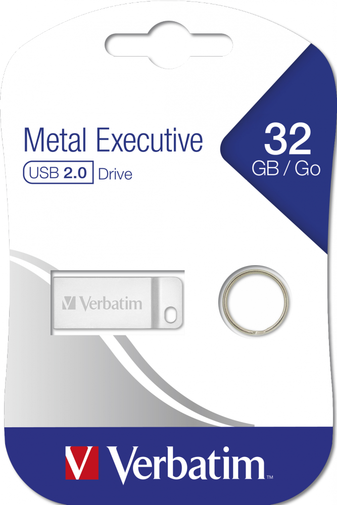 Executive USB 2.0-Laufwerk aus Metall 32GB*
