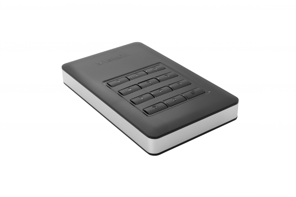 Store 'n' Go Secure Portable HDD with Keypad Access 1TB