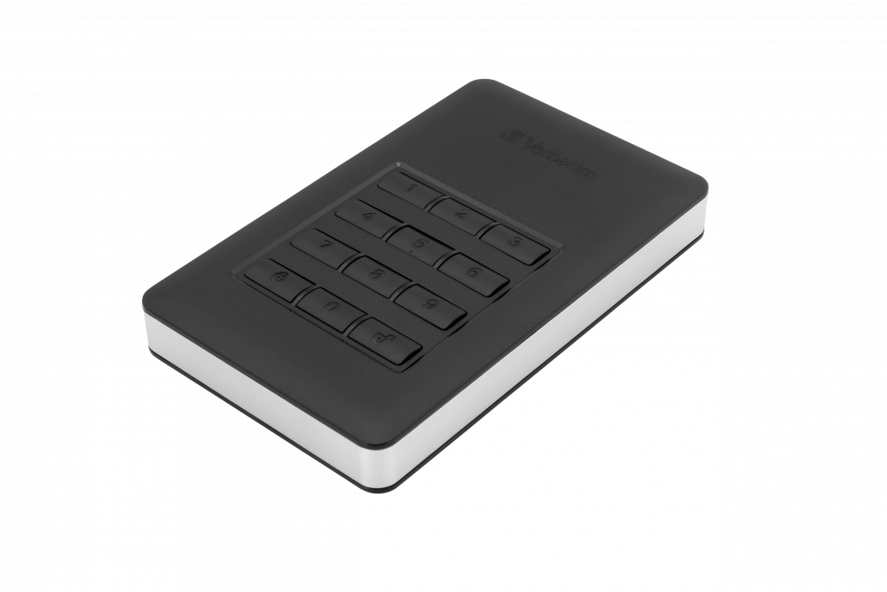 Store 'n' Go Secure Portable HDD with Keypad Access 2TB