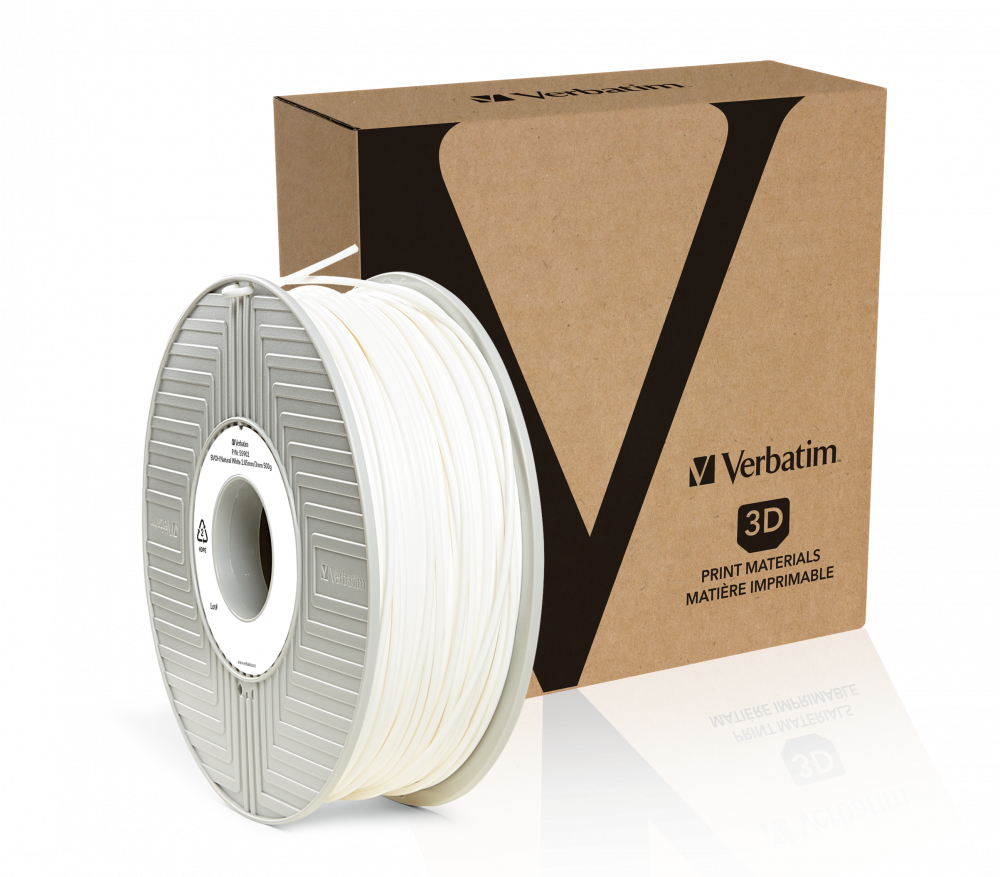 Verbatim BVOH filament 2.85 mm - Natural White